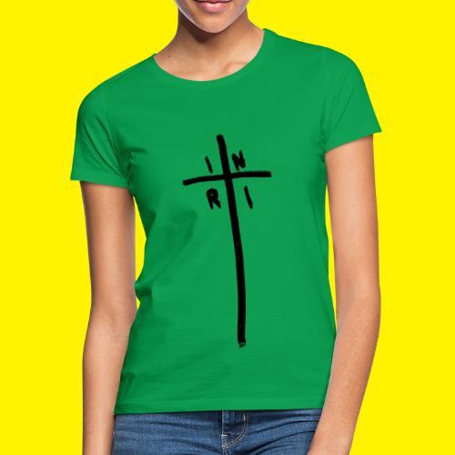 Cross - INRI (Jesus of Nazareth King of Jews) - Women's T-Shirt