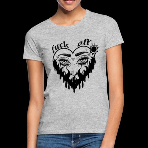 Fuck Off - T-shirt Femme