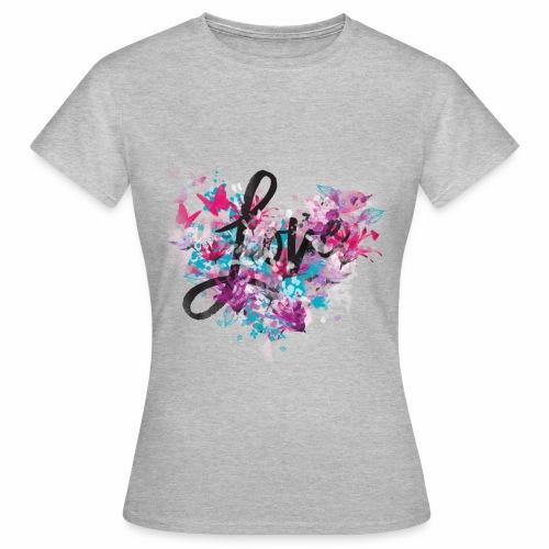 Love with Heart - Women's T-Shirt