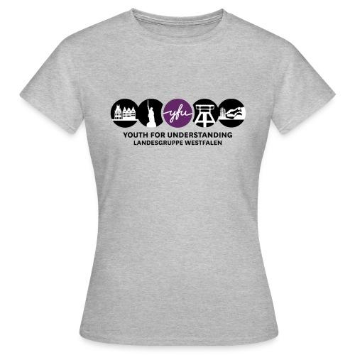 schwarz weiß durchsichtiger rand png - Frauen T-Shirt