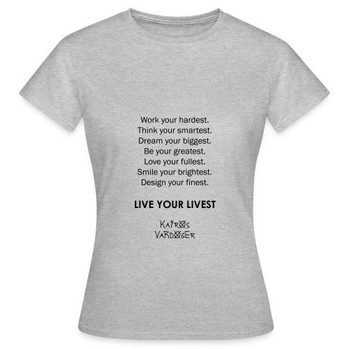 Kairos Vardoger - Vrouwen T-shirt