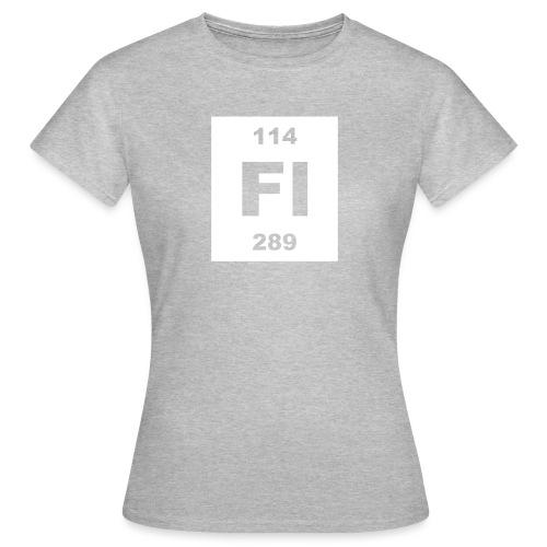 Flerovium (Fl) (element 114) - Women's T-Shirt