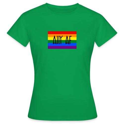 ally af - Frauen T-Shirt