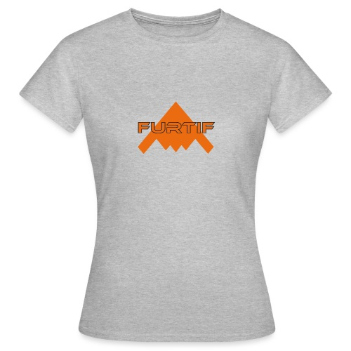 Big logo white - T-shirt Femme
