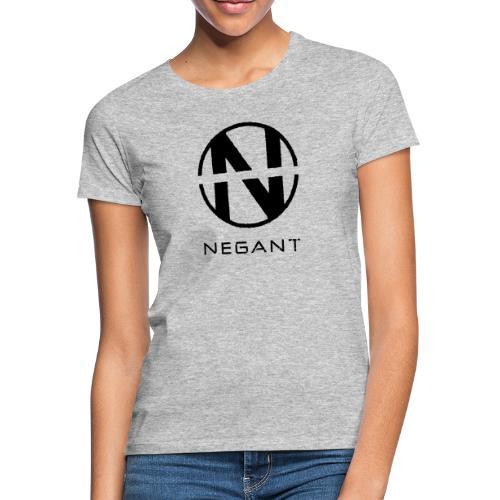 Black Negant logo - Dame-T-shirt