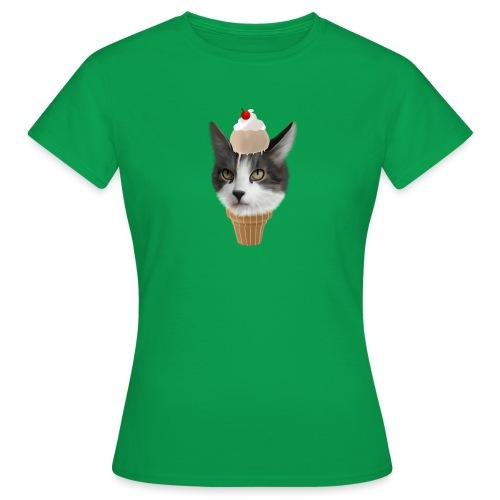 Ice Cream Cat - Frauen T-Shirt