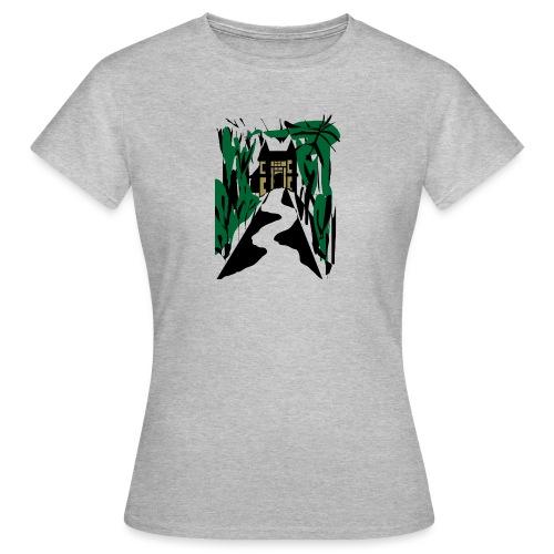HALLOWEEN SPOOKY HAUNTED MANSION 2017 - Frauen T-Shirt