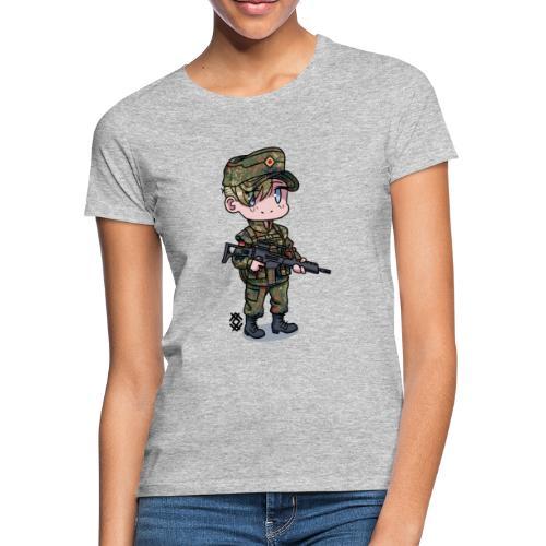 Chibi Bundeswehr - Naisten t-paita
