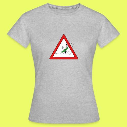 Kajak Unfall im Dreieck - Frauen T-Shirt