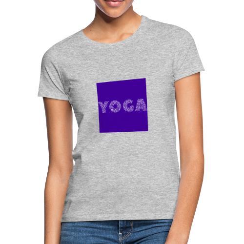 Yoga positions - T-shirt Femme