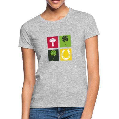 Just my luck Glück - Frauen T-Shirt