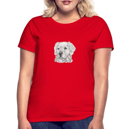 golden retriever - Dame-T-shirt