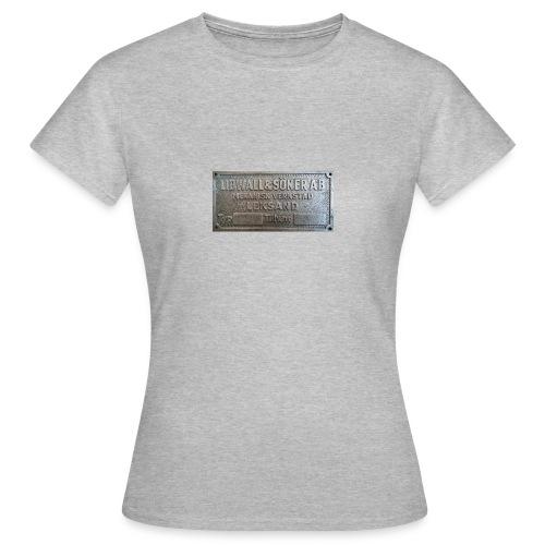 Tillverkningsskylt före 1967 - T-shirt dam