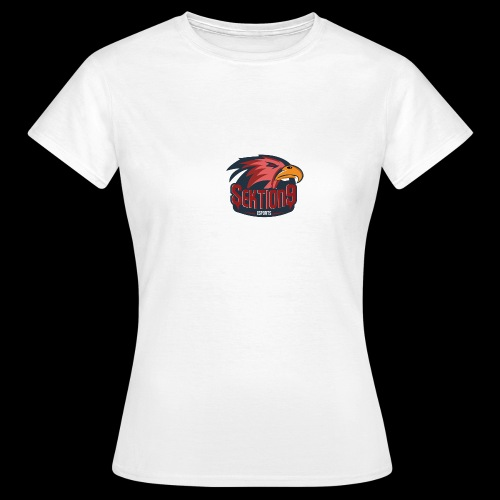 Sektion9 logo Rot - Frauen T-Shirt