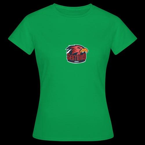 Sektion9 logo Rot - Frauen T-Shirt