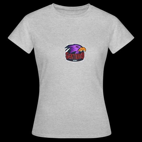 Sektion9 logo lila - Frauen T-Shirt