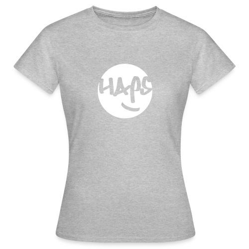 HAPS White Logo - Women's T-Shirt