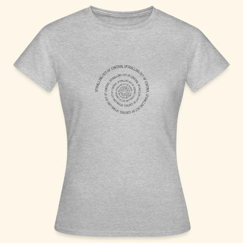 SPIRAL TEXT LOGO BLACK IMPRINT - Women's T-Shirt