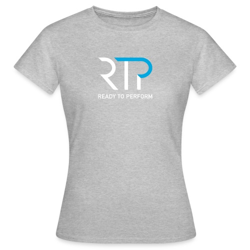 RTP byline white - T-shirt dam
