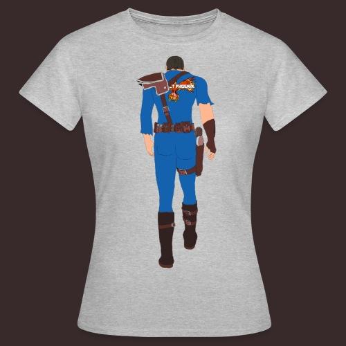 PP tatted Vault suit - Women's T-Shirt