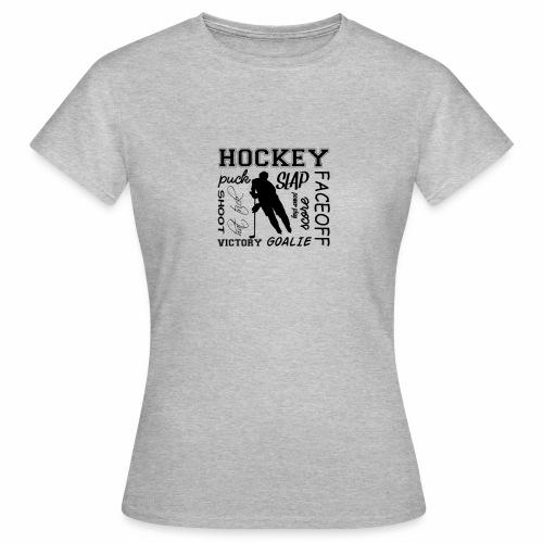 Puck slap victory - T-shirt Femme