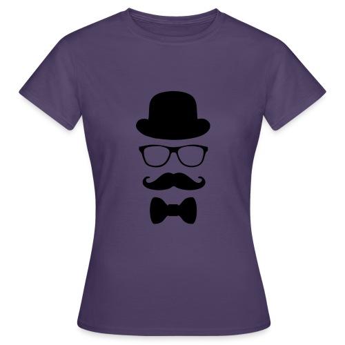 Mann mit Krawatte. - Frauen T-Shirt