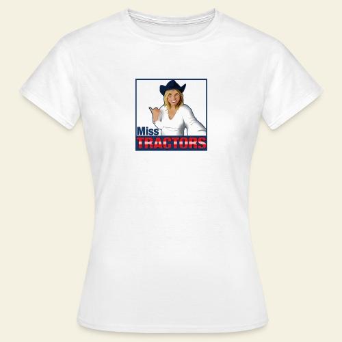 Miss Tractors Logo - Maglietta da donna