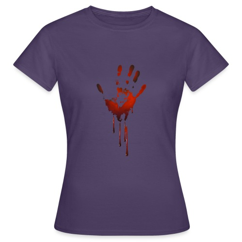 tænk dig om - Dame-T-shirt
