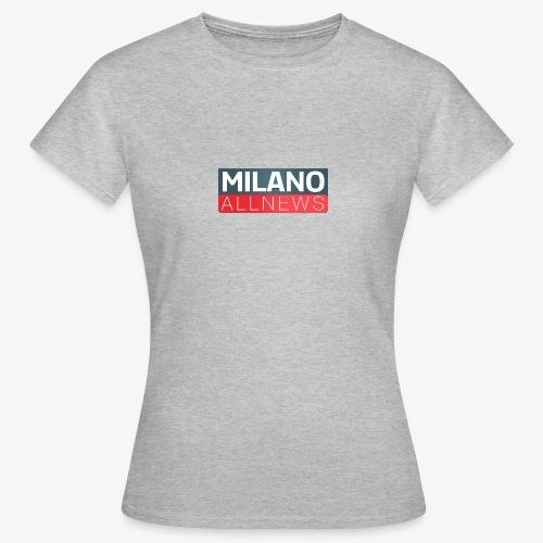 Milano AllNews Logo - Maglietta da donna