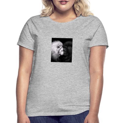 Löwe trifft Löwe - Frauen T-Shirt