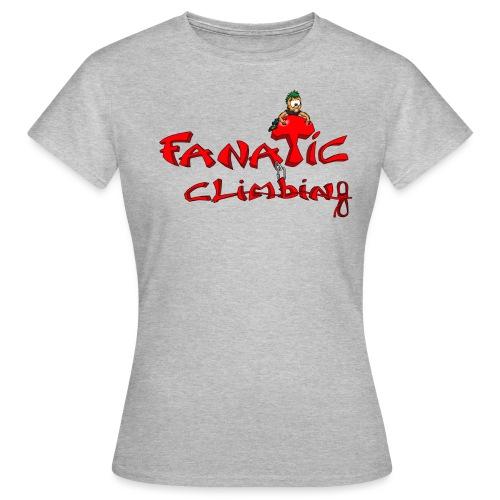 Fanatic Climbing - T-shirt Femme