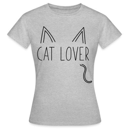 Cat Lover - Maglietta da donna
