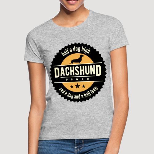 Dachshund Power - Vrouwen T-shirt