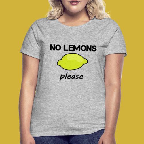 lemons - Women's T-Shirt