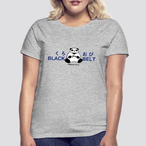 Black Belt Panda - Vrouwen T-shirt