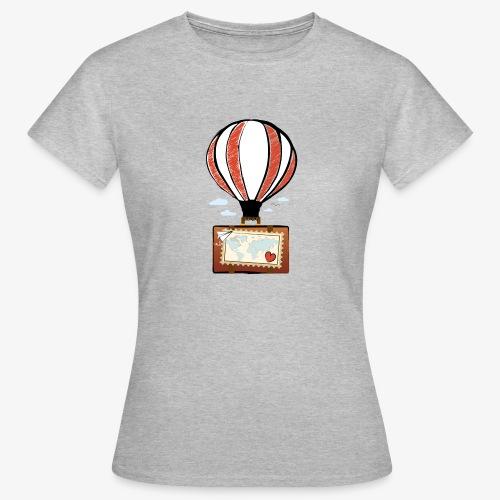 CUORE VIAGGIATORE Gadget per chi ama viaggiare - Maglietta da donna