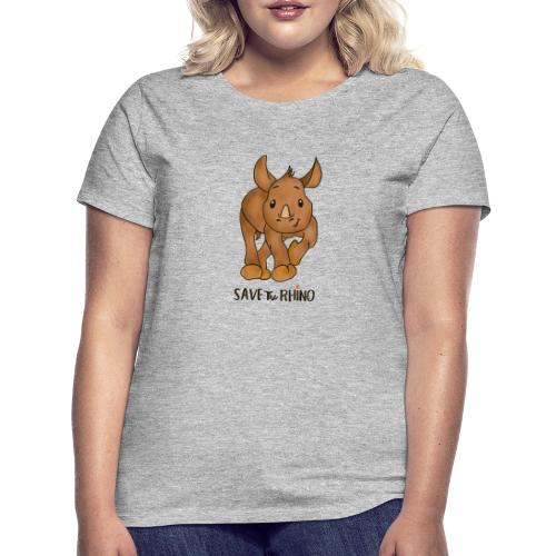 Save the Rhino - Women's T-Shirt