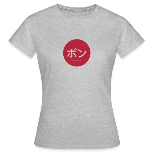 Bonn-Japanese_round - Frauen T-Shirt