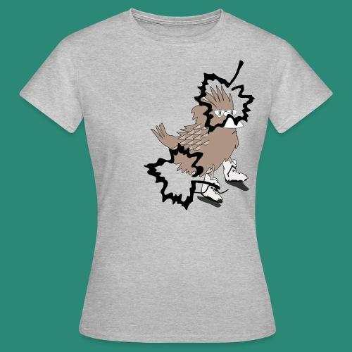 Ein Spatz - Frauen T-Shirt
