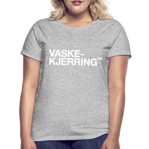 Vaskekjerring™ (fra Det norske plagg) - T-skjorte for kvinner