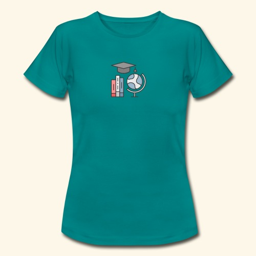 teacher knowledge learning University education pr - Dame-T-shirt