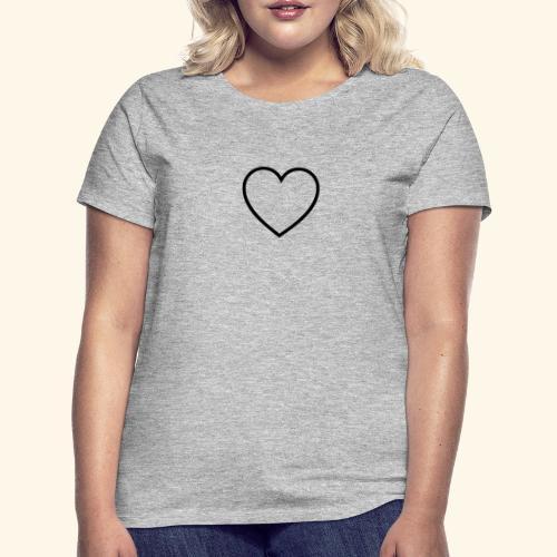 heart 512 - Dame-T-shirt