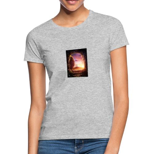 He is rising - Women's T-Shirt