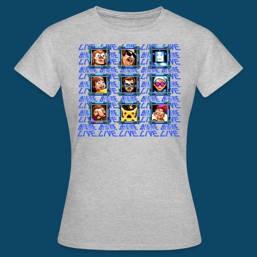 Tshirt4000 png - T-shirt Femme