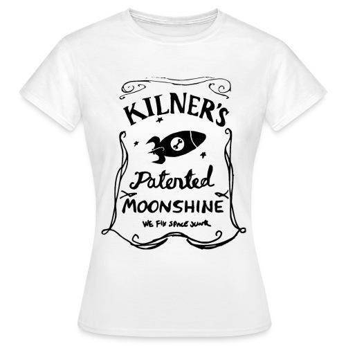 Kilner's Patented Moonshine (Black) - Women's T-Shirt
