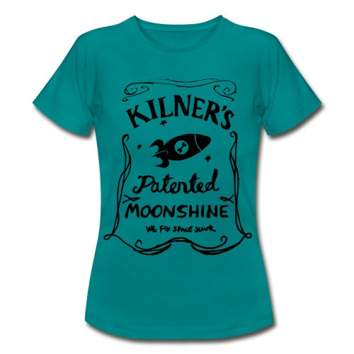 Kilner's Patented Moonshine (Black) - Women's T-Shirt