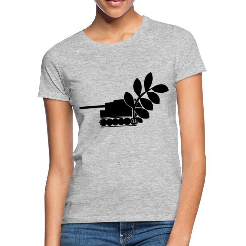 Global Campaign on Military Spending - Logo gray - Women's T-Shirt