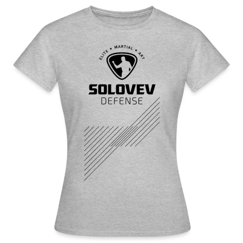 SD EMA back black - Frauen T-Shirt