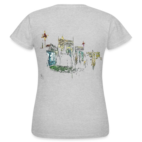 BASSKOUR NEUROWATTS PROPULSOUND JUNGLE ASSAULT - T-shirt Femme