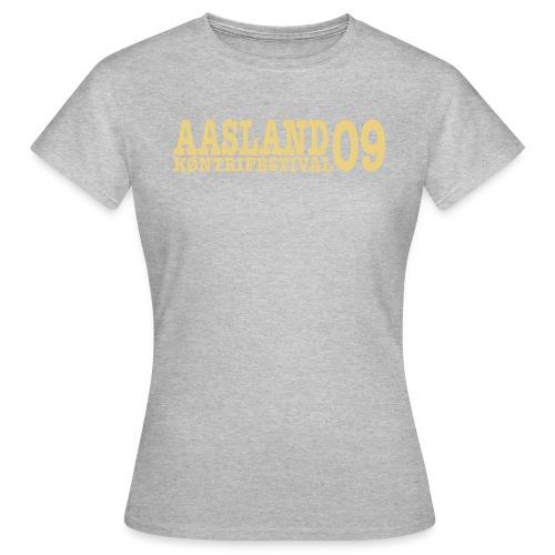 akf09 - T-skjorte for kvinner